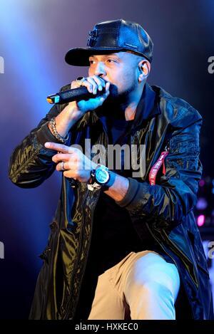 Bestival, Newport, Isle of Wight, 11. September 2016, UK, Sean Paul die live auf der Bühne Bühne Bestival - Stockfoto