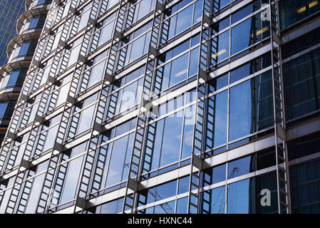Canary Wharf Bürogebäude Architektur. London. UK - Stockfoto