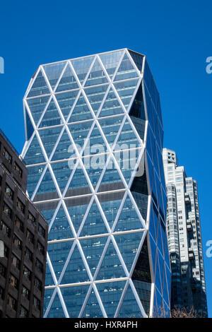 Der Hearst Tower auf der 8th Avenue in New York City
