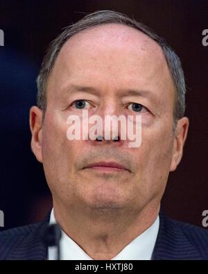 Washington DC, USA. 30. März 2017. Vereinigte Staaten Armee-General (Retired) Keith B. Alexander, ehemaliger Direktor, - Stockfoto