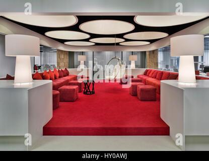 Moskau Interieur Buro Arbeiten Design Einrichtung Modern