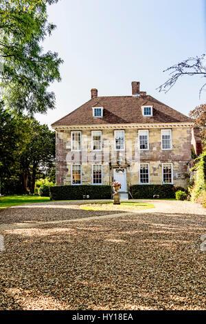 Arundells in Nähe Kathedrale, Salisbury - Heimat des ehemaligen Premierminister Sir Edward Heath; Früheres Wohnhaus - Stockfoto