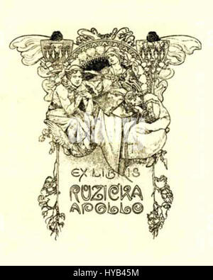 Alfons Mucha 2 - Stockfoto