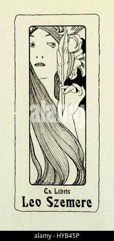 Alfons Mucha 3 - Stockfoto