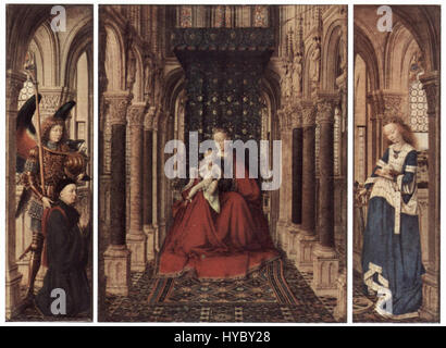 Jan Van Eyck 085 - Stockfoto