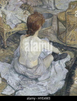 Henri de Toulouse Lautrec Rousse Google Art Project - Stockfoto