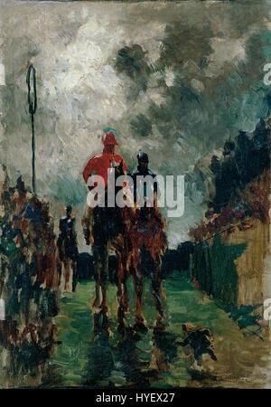 Henri de Toulouse-Lautrec Les jockeys - Stockfoto