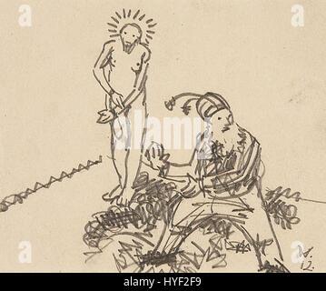 Wilhelm Morgner Ohne Titel (Ecce Homo) 1912 - Stockfoto