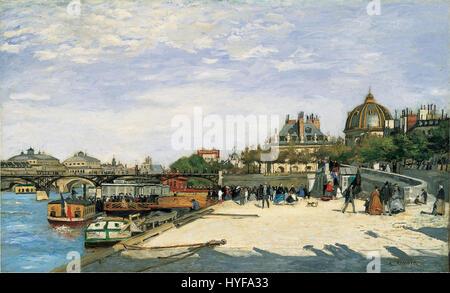 Pierre Auguste Renoir Le Pont des Arts Paris - Stockfoto