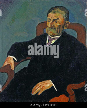 Wilhelm Morgner Bildnis Kaufmann Mundt - Stockfoto