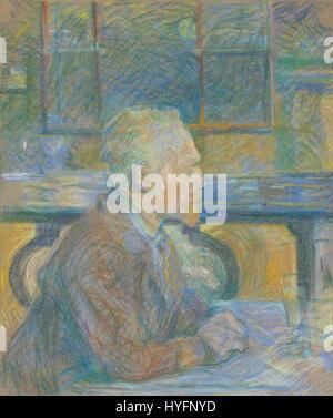 Toulouse Lautrec de Henri Vincent Van Gogh Sonne - Stockfoto