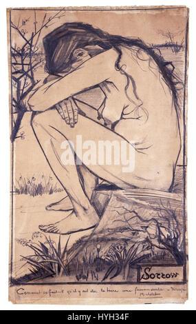 Vincent Van Gogh Sorrow - Stockfoto