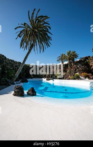 Jameos del Agua, Architekt, Cesar Manrique, Lanzarote, Kanarische Inseln, Spanien - Stockfoto