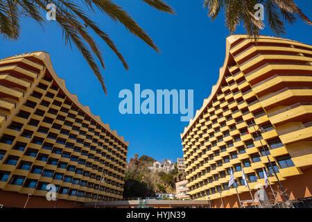 Hotel Melia, Bajondillo Torremolinos. Provinz Malaga Costa del Sol Andalusien Südspanien, Europa - Stockfoto