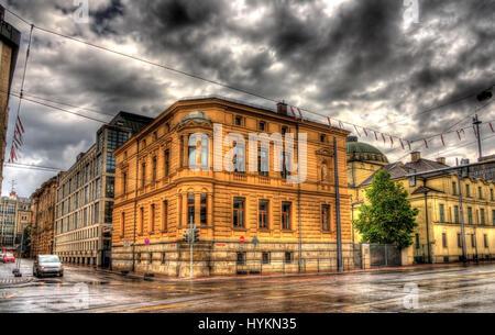 Gebäude in Augsburg - Deutschland, Bayern - Stockfoto