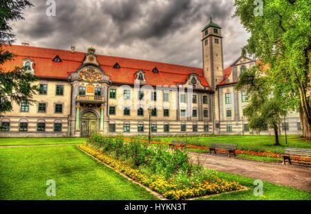 Furstbischofliche Residenz in Augsburg, Deutschland - Bayern - Stockfoto