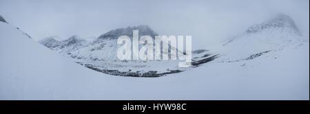 Skitouren in abisko Region und National Park, Schweden, Europa - Stockfoto