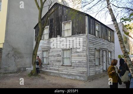 Berlin, Deutschland. 9. April 2017. Die Detroit-Heimat der bürgerlichen Rechte Ikone Rosa Parks des amerikanischen - Stockfoto