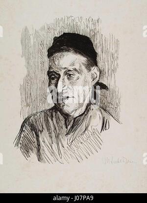 Max Liebermann Bäuerin - Stockfoto