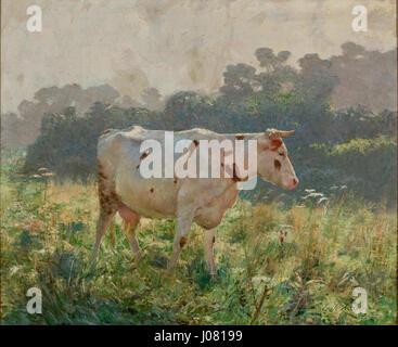 Émile Claus - Vaca - Stockfoto