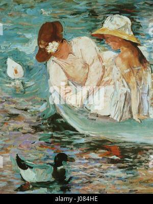 Mary Cassatt - L'Été - Stockfoto