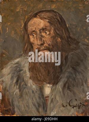 Eduard von Gebhardt Bildnis Eines Bärtigen Mannes - Stockfoto