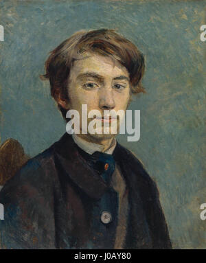 Henri de Toulouse-Lautrec-Portrait de Émile Bernard - Stockfoto