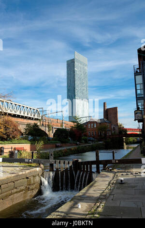 Beetham Tower, aka Hilton Tower, Manchester, Greater Manchester, England - Stockfoto