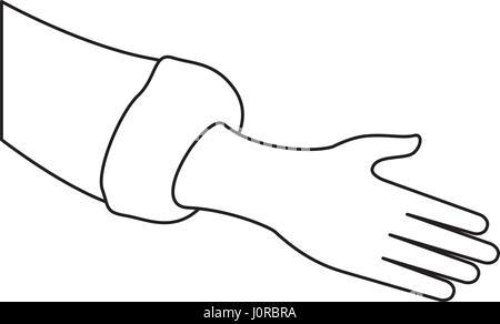 Menschliche Hand-symbol - Stockfoto