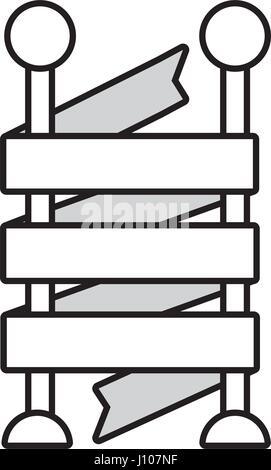 Handgezeichnete Wimpel Design. Retro-Fahne mit Sunbursts und ...