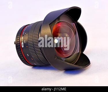 Samyang F2. 8 14mm super-Weitwinkel SLR Objektiv - Stockfoto