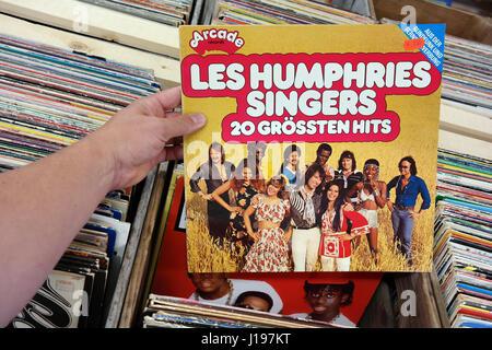 Les Humphries Singers - 20 Grossten Hits - Stockfoto