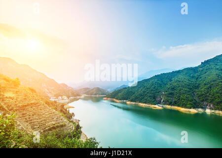 Phoenix-Berg in Chaozhou City, Guangdong Provinz, China - Stockfoto