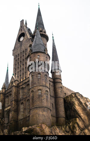 Die Zauberwelt von Harry Potter im Universal Orlando Resort, Orlando, Florida, USA - Stockfoto