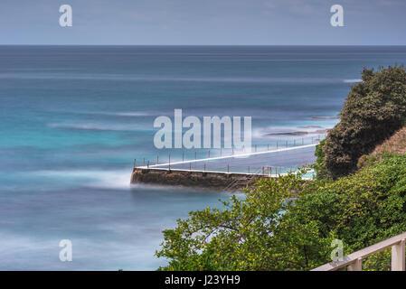 Bondi Beach Bäder, Bondi, Sydney, New South Wales, Australien - Stockfoto
