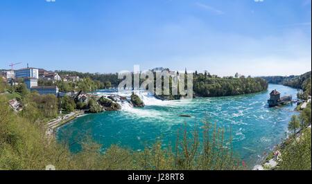 Rheinfall-HDR-Panorama - Stockfoto