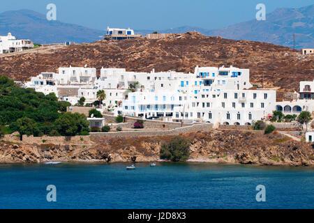 In und um touristische griechischen Hauptstadt Mykonos-Stadt (Chora) auf der griechischen Insel Mykonos (die Insel - Stockfoto