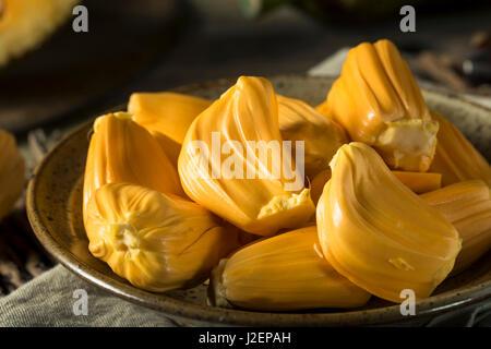 Hausgemachte Bio frische Jackfruit essfertig - Stockfoto