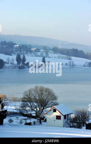 Frankreich, Doubs, See Saint Point - Stockfoto