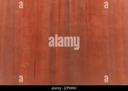 Nahaufnahme von einem Stuck Wand Hintergrund gemalt - Stockfoto