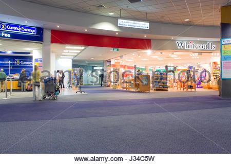 Auckland International Airport Limited, Northland, North Island, Neuseeland, August 2007. Flughafen Auckland ist - Stockfoto