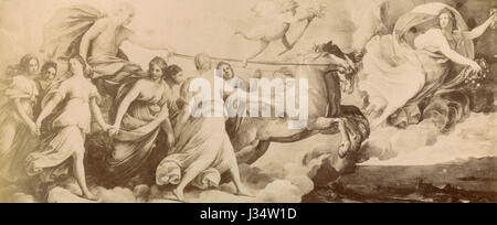 Aurora, Gemälde von Guido Reni, Rom, Italien - Stockfoto