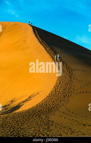 Namib-Wüste bei Sossusvlei Region Namibia März - Stockfoto