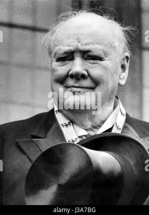 Winston Churchill - Stockfoto