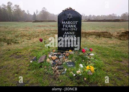 Das Grab von Anne Frank - Stockfoto