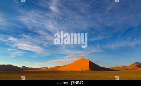 Namib-Wüste bei Sossusvlei Region Namibia März