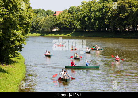 Leipzig Fluss leipzig sachsen deutschland weisse elster fluss in leipzig