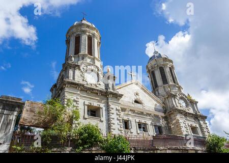 Vernachlässigte Kathedrale Kirche von St. John The Divine, einem historischen Gebäude in St. John's, Hauptstadt, - Stockfoto