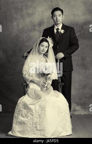 Klassischen Hochzeitsfotos - Stockfoto
