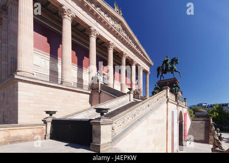 Alte Nationalgalerie (Alte Nationalgalerie), Museumsinsel, Heritge der UNESCO, Mitte, Berlin, Deutschland, Europa - Stockfoto